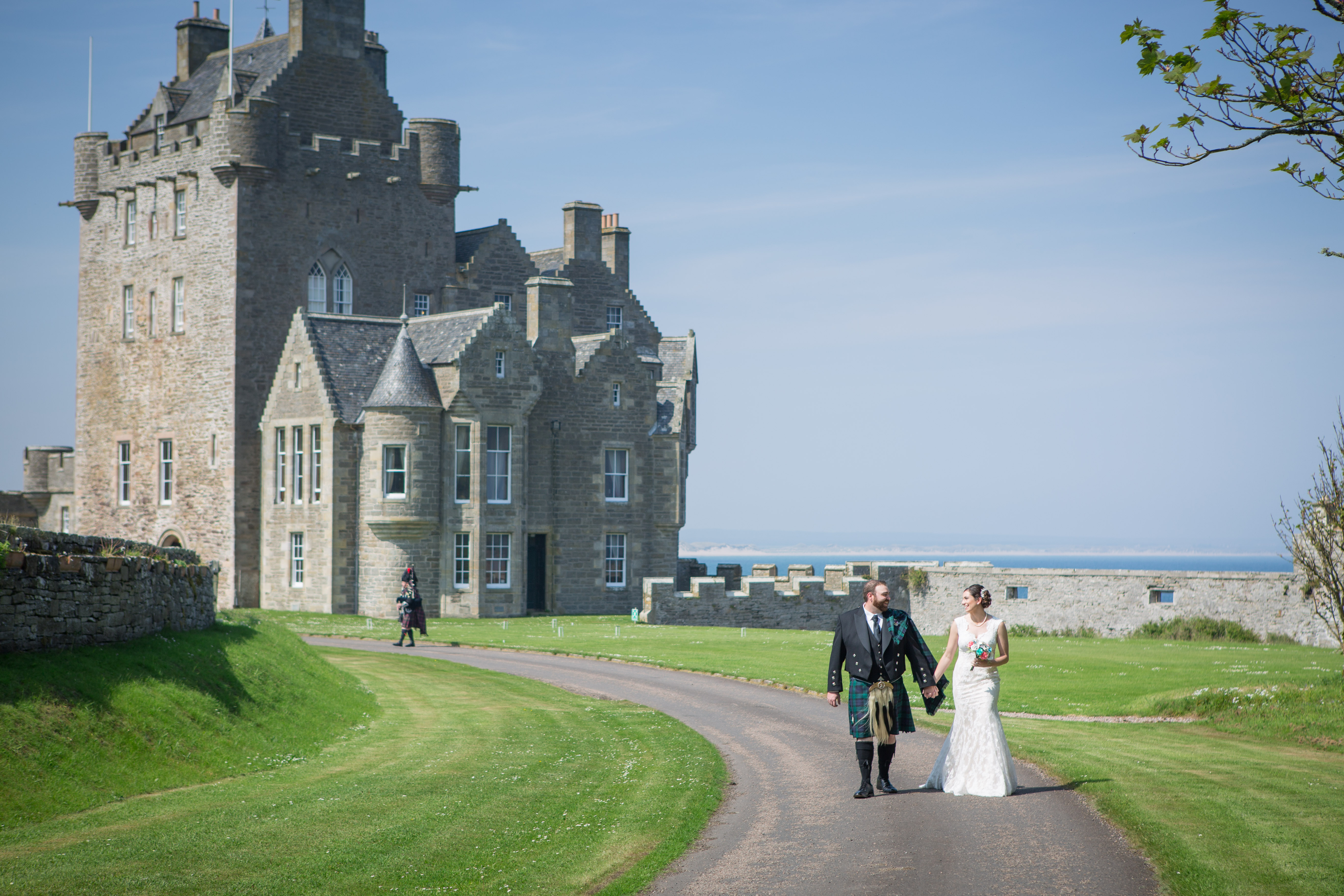 Scotland Destination Wedding – Ray & Drew Say I Do